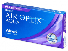 Air Optix Aqua Multifocal (3 lenses) - Multifocal contact lenses