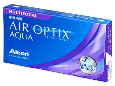 Air Optix Aqua Multifocal (3lenses) - Previous design