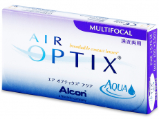 Air Optix Aqua Multifocal (3 lenses) - Previous design