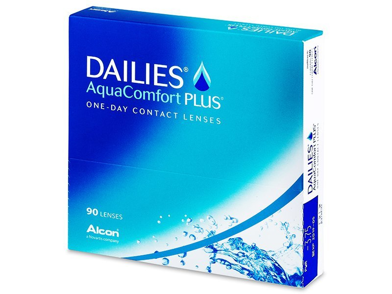 Dailies AquaComfort Plus (90lenses) - Daily contact lenses