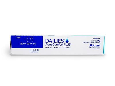 Dailies AquaComfort Plus (90lenses) - Attributes preview