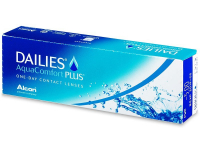 Dailies AquaComfort Plus (30 lenses) - Daily contact lenses