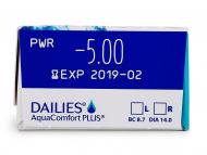 Dailies AquaComfort Plus (30lenses) - Attributes preview
