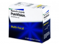 Bausch and Lomb Contact Lenses - PureVision Multi-Focal (6lenses)