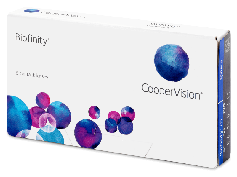 Monthly contact lenses - Biofinity (6 lenses)