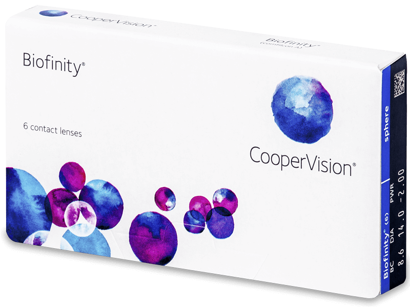 Biofinity (6lenses) - Monthly contact lenses