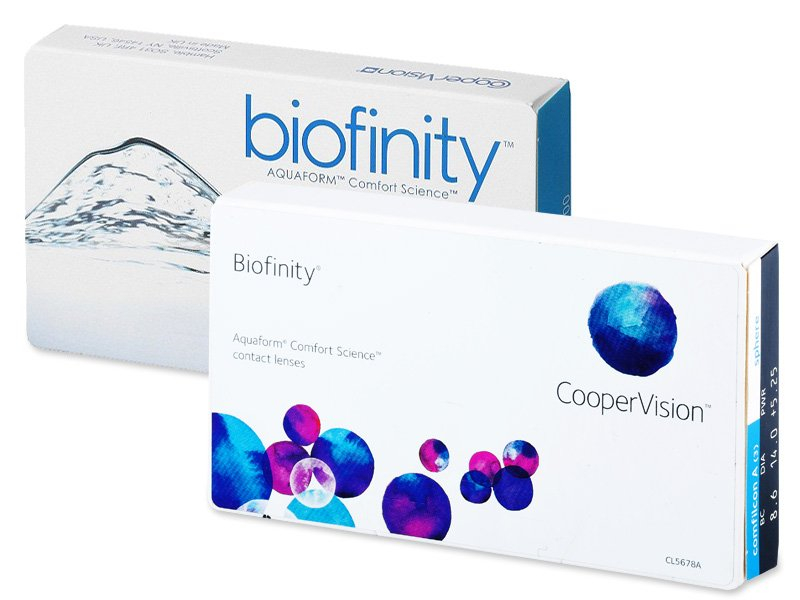Biofinity (6 lenses) - Previous design