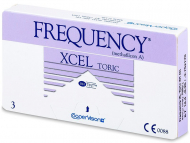 Monthly Contact Lenses - FREQUENCY XCEL TORIC XR (3 lenses)