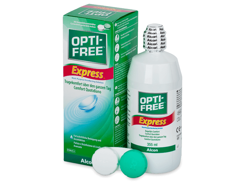 OPTI-FREE Express Solution 355ml  - Cleaning solution