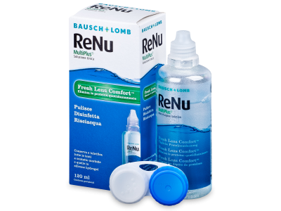 ReNu MultiPlus Solution 120ml  - Cleaning solution