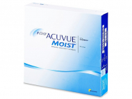 Daily Contact Lenses - 1 Day Acuvue Moist (90lenses)