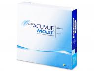 Johnson and Johnson Contact Lenses - 1 Day Acuvue Moist (90lenses)