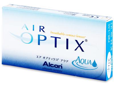 Air Optix Aqua (6lenses) - Previous design