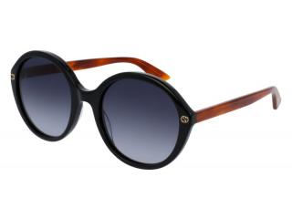Oval sunglasses - Gucci GG0023S-003