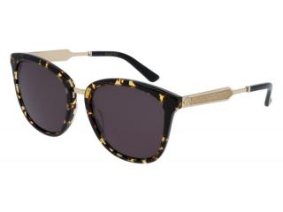 Oval sunglasses - Gucci GG0073S-002