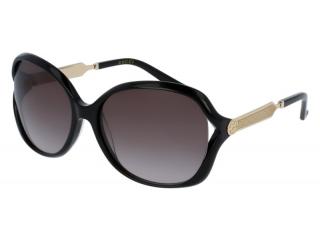 Oval sunglasses - Gucci GG0076S-002