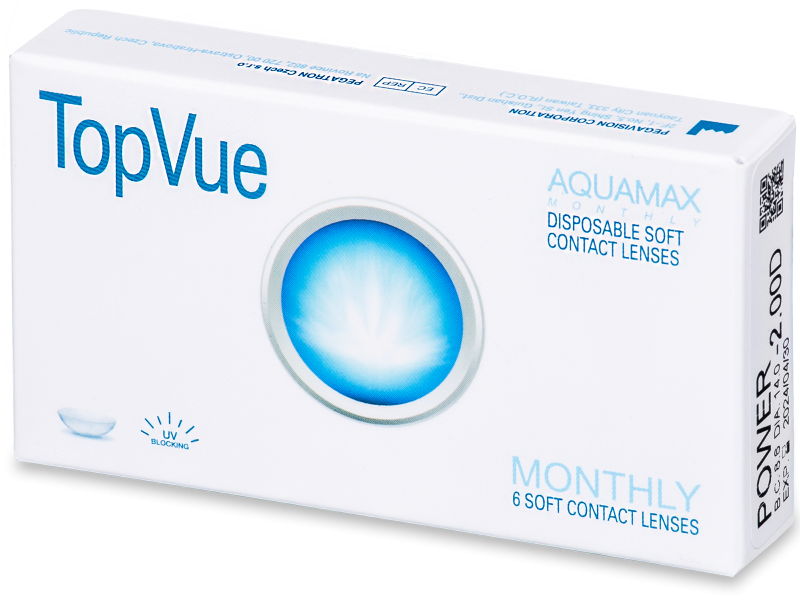 TopVue Monthly (6 lenses) - Monthly contact lenses