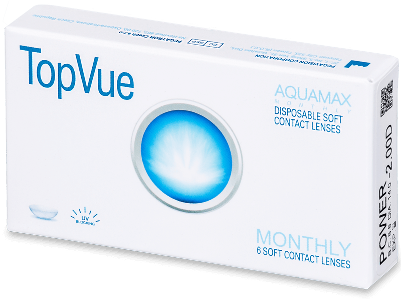 TopVue Monthly (6lenses) - Monthly contact lenses