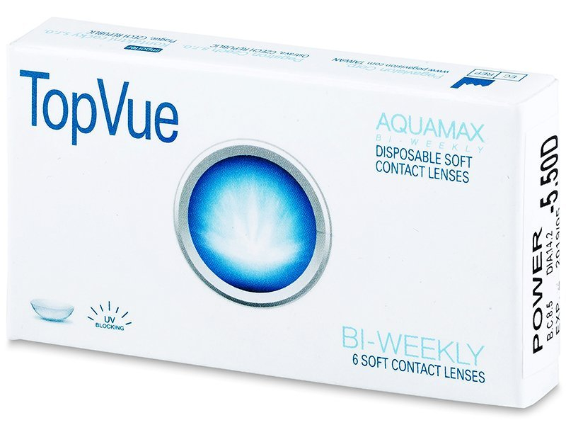 TopVue Bi-weekly (6 lenses) - Bi-weekly contact lenses
