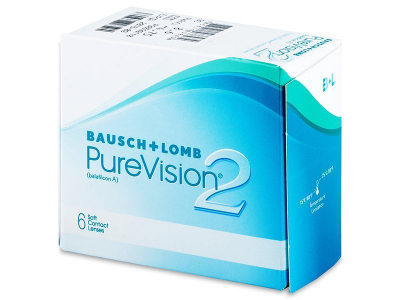 Monthly contact lenses - PureVision 2 (6lenses)