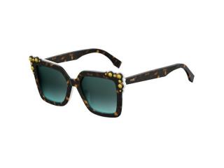 Extravagant sunglasses - Fendi FF 0260/S C9K/EQ