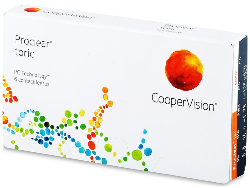 Proclear Toric (6 lenses) - Toric contact lenses