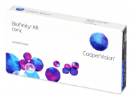 Toric Contact Lenses - Biofinity XR Toric (3 lenses)