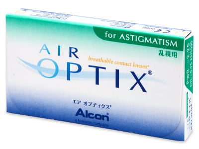 Air Optix for Astigmatism (6lenses) - Previous design