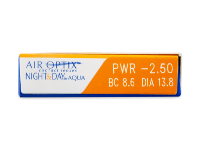 Air Optix Night and Day Aqua (3lenses) - Attributes preview