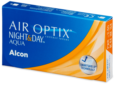Air Optix Night and Day Aqua (3lenses) - Monthly contact lenses